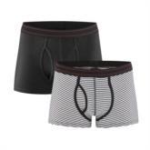Herren Shorts Doppelpack GOTS