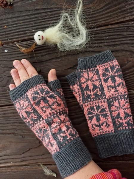 Fingerlose Handschuhe 'Dianthus'