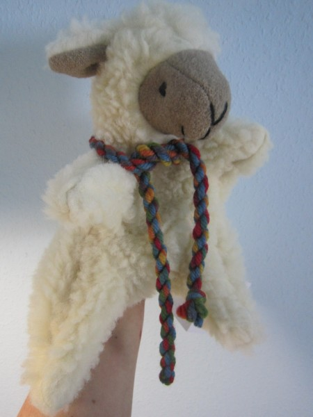 Handspieltier Schaf