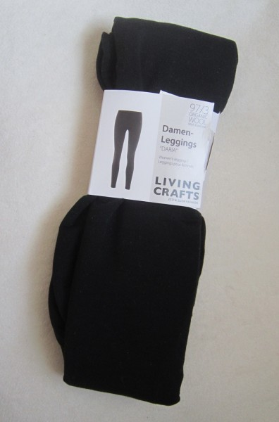 Damen Woll Leggings GOTS