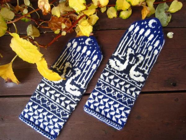 Fäustel Handschuhe 'Schwanensee'