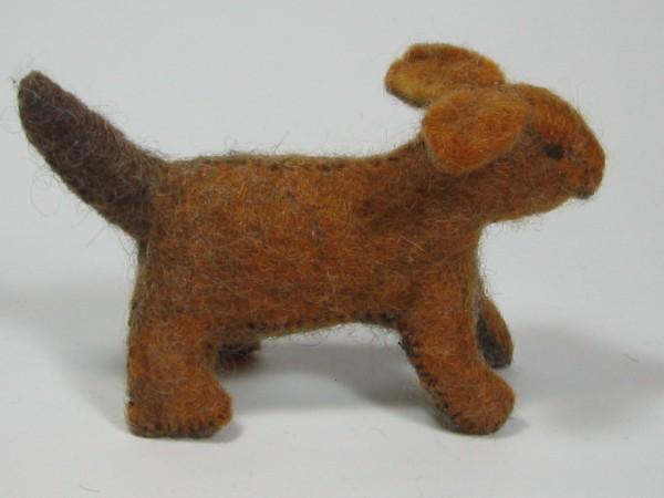 Bastelpackung Bauernhoftiere Hund