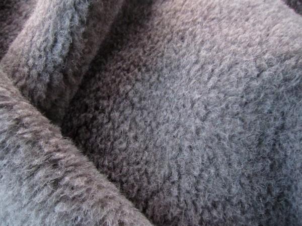 Schafwollplüsch Wollflor Schafwollvlies