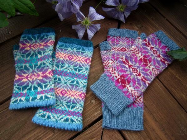 Fingerlose Handschuhe 'Nomen'