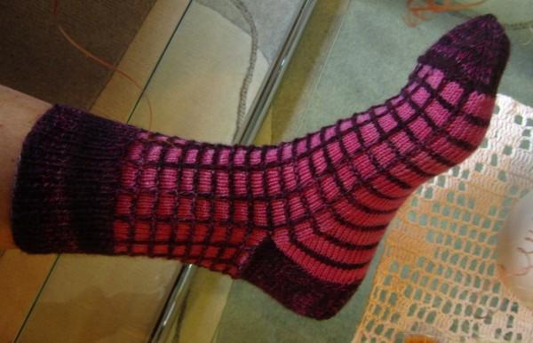 Mosaic Socken Karo