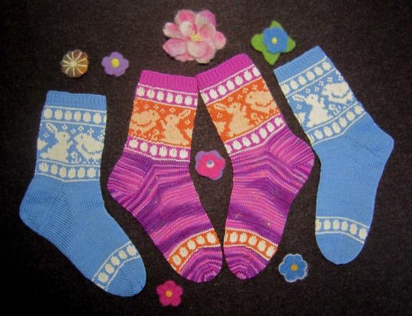 Oster-Socken