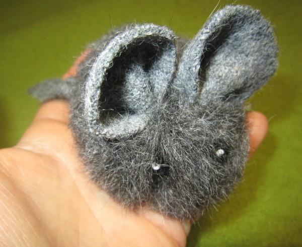 Pompon- Maus Pompon-Tiere Wollmaus