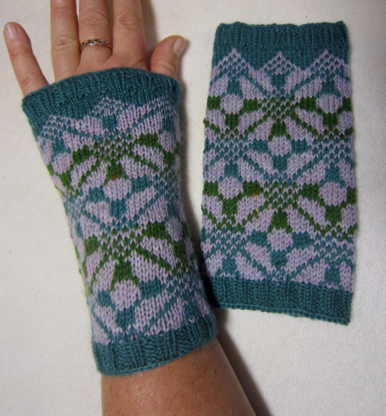 Pulswärmer handgestrickt Stulpen Handstulpen Armstulpen Handwärmer Geschenk Norweger