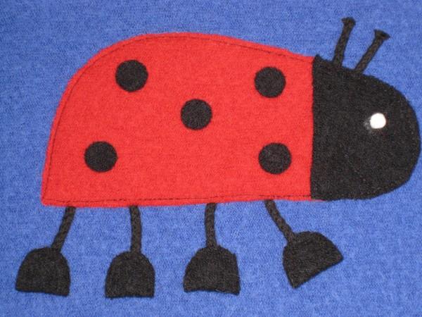 Walkshirt mit Applikation Walk-Shirt