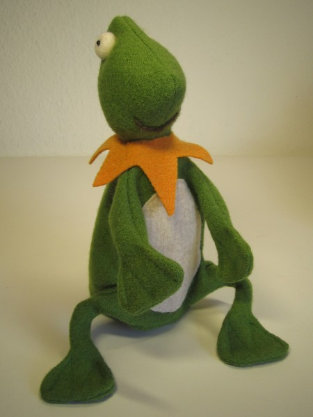 Handspieltier Frosch