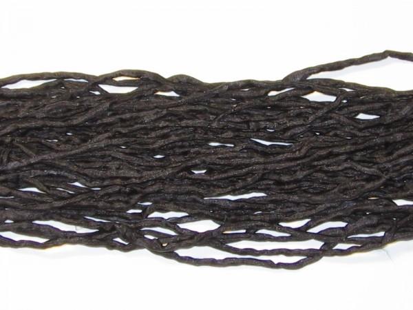 Seidenschnüre schwarz