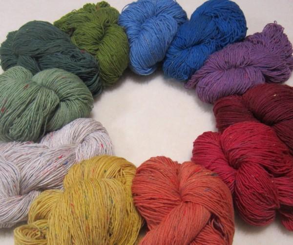 Atelier Zitron Trekking Tweed XXL Sockengarn pflanzengefärbt