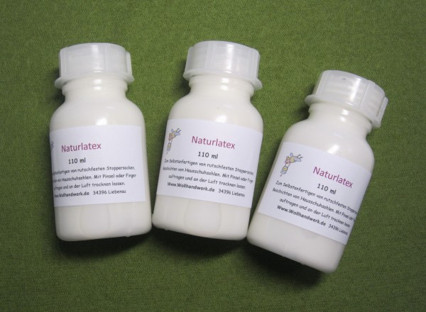 Naturlatex Latexmilch 110ml Flasche