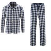 Herren Flanell Schlafanzug GOTS